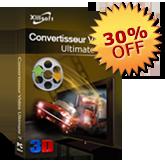 30% de réduction pour Convertisseur Vidéo Ultimate
