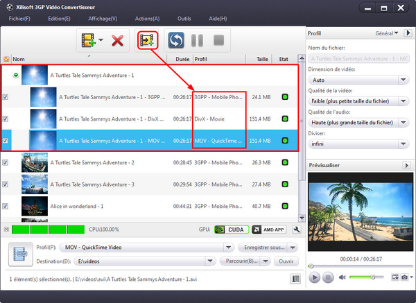 Xilisoft 3GP Video Convertisseur