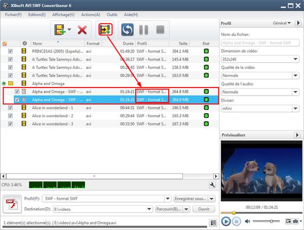 Xilisoft AVI SWF Convertisseur