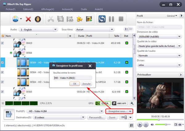 Xilisoft Blu-ray to Video Converter