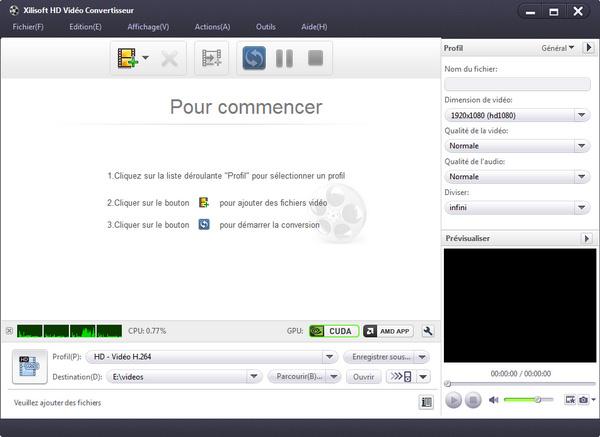 Xilisoft Convertisseur Video HD