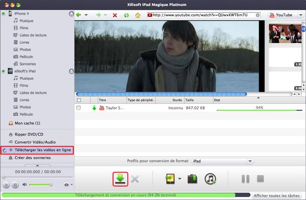 Xilisoft iPad Magique pour Mac