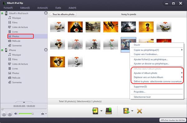 Xilisoft Transfert iPod PC