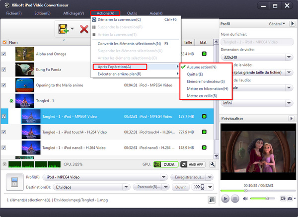 Xilisoft iPod Vidéo Convertisseur