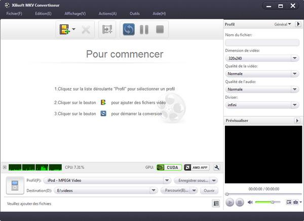Xilisoft MKV Convertisseur