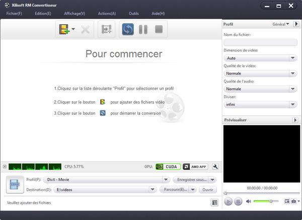 Xilisoft RM Convertisseur