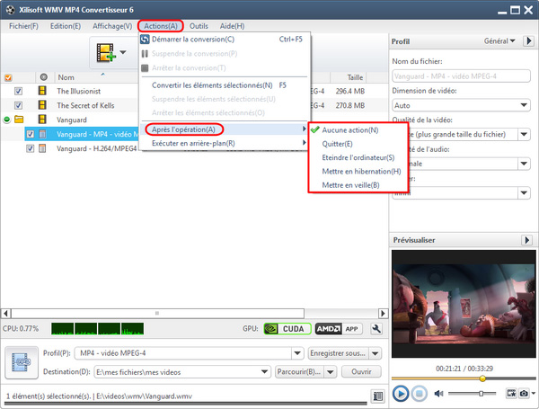 Xilisoft WMV MP4 Convertisseur