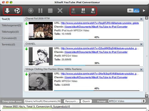 Xilisoft YouTube iPod Convertisseur pour Mac